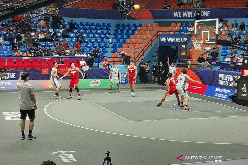 Tim 3X3 Indonesia ke semifinal SEA Games 2019 usai taklukkan Malaysia