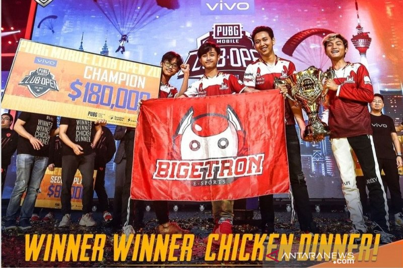 Indonesia juara dunia PUBG Mobile 2019 di Malaysia