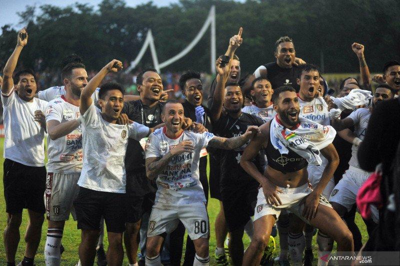Bali United optimistis raih gelar juara di Padang