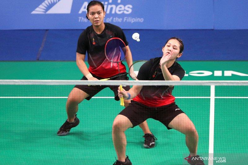 Regu bulu tangkis putri Indonesia harus puas dengan medali perak SEA Games