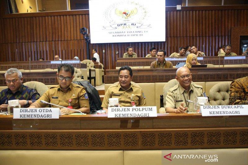 Kesimpulan RDP Komisi II DPR RI dengan Kemendagri, KPU dan Bawaslu