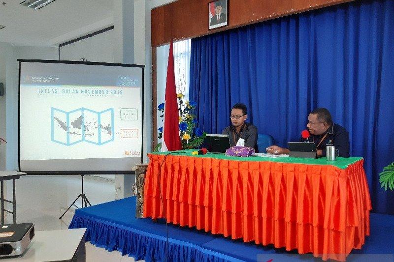BPS: Kota Jayapura alami inflasi sebesar 0,85 persen