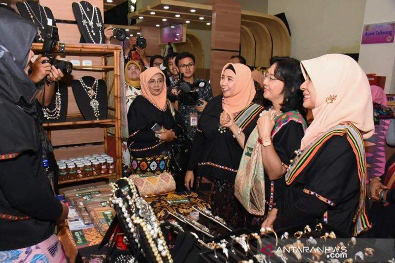 Sejumlah produk unggulan UMKM NTB dipamerkan di Jakarta