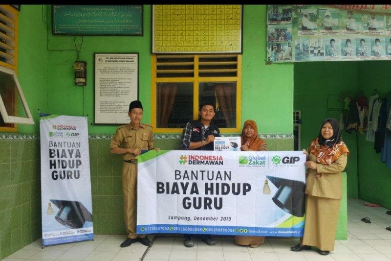 ACT Lampung berikan bantuan kepada guru