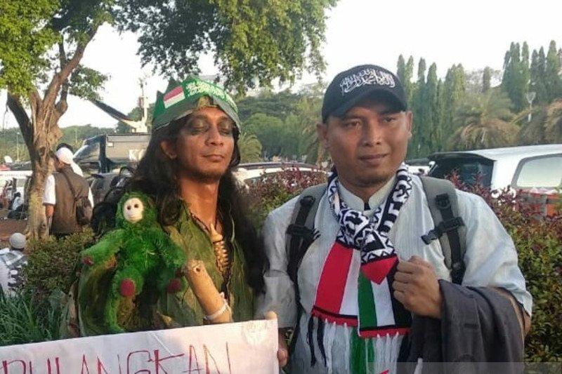 Presiden Perdamaian dan si Buta dari Gua Hantu hadiri  Reuni 212
