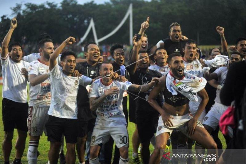 BALI UNITED JUARA LIGA 1 USAI MENGALAHKAN SEMEN PADANG FC