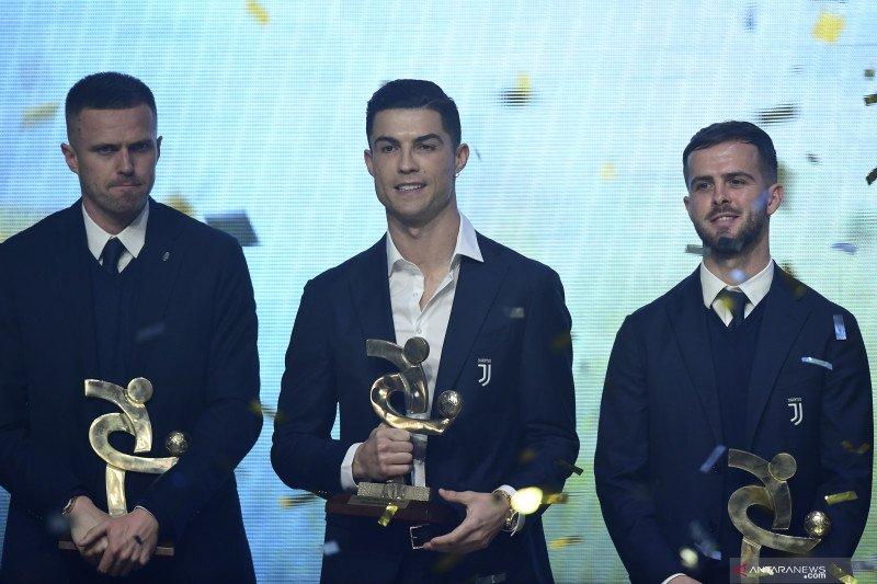 Cristiano Ronaldo terpilih jadi pemain terbaik Liga Italia