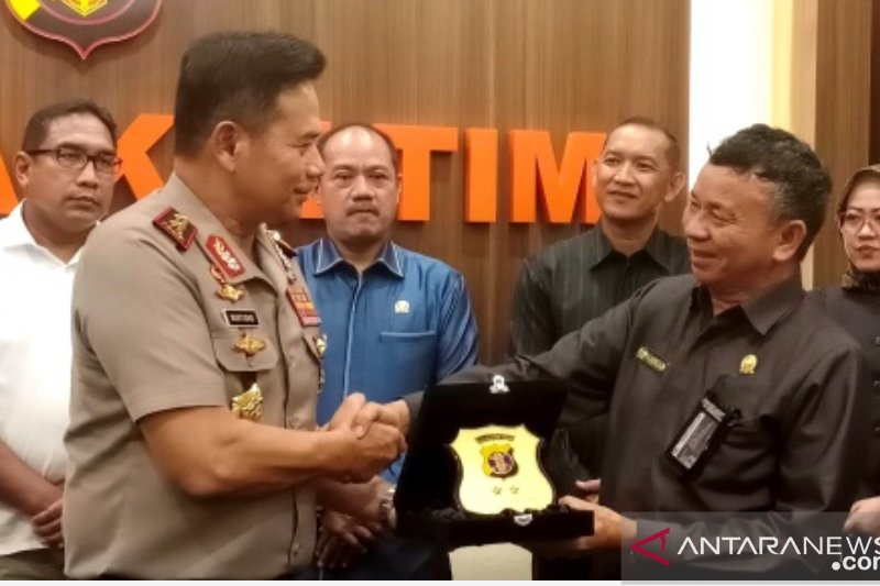 DPRD-Polda Kaltim bahas persiapan provinsi jadi Ibu Kota Negara