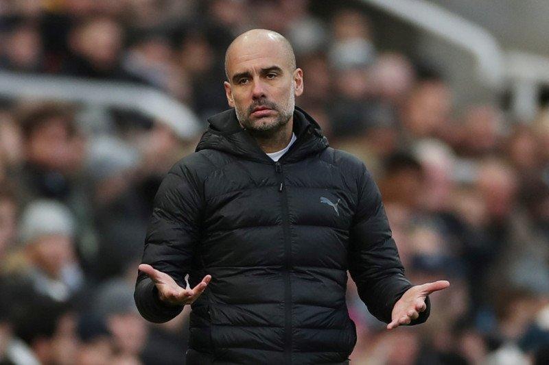 Pep Guardiola sebut Rodgers ubah Leicester jadi calon juara Liga Inggris