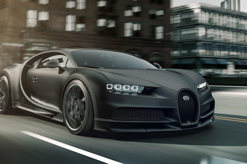 Duo Bugatti Chiron Noire hanya diproduksi 20 Unit