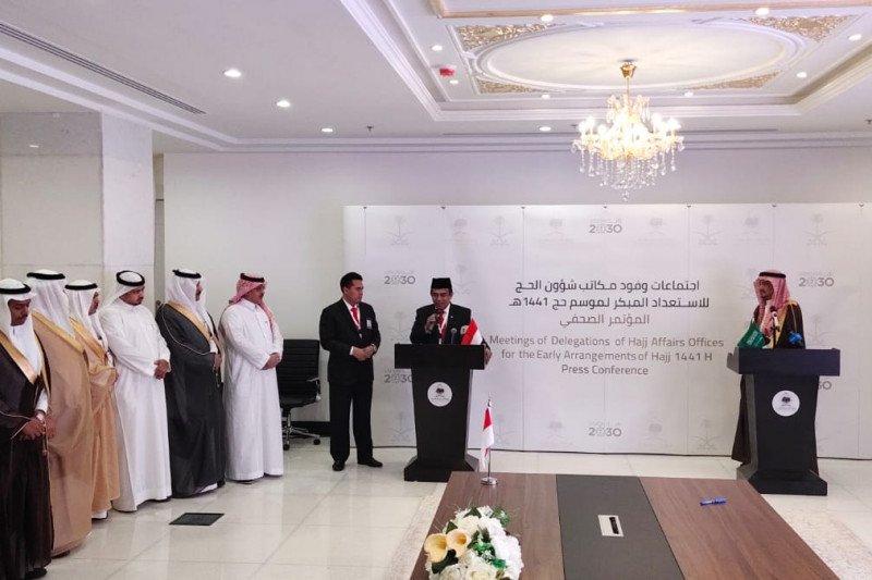 Menteri Agama lobi Saudi kuota dasar Indonesia jadi 231 ribu slot