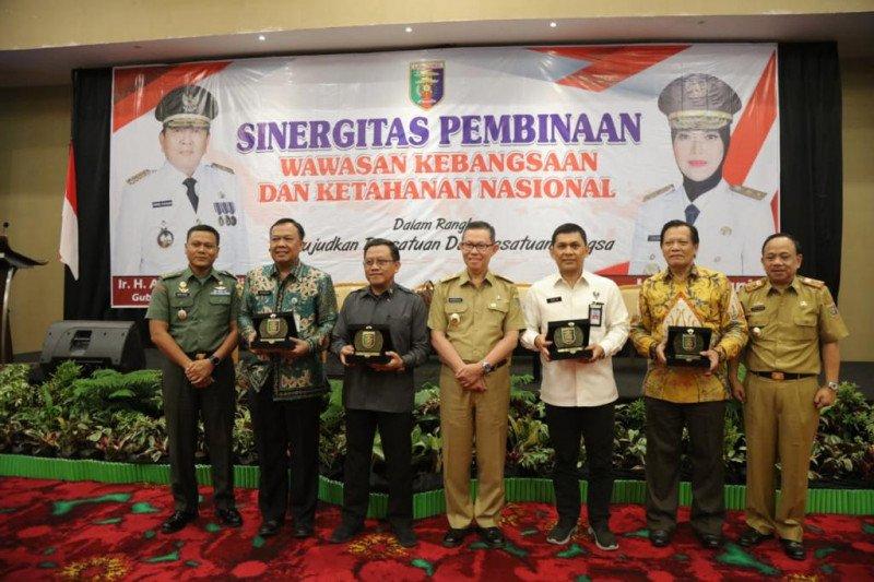 Pemprov Lampung bersinergi dengan Kemendagri dan TNI AD dalam rangka mewujudkan persatuan dan kesatuan bangsa