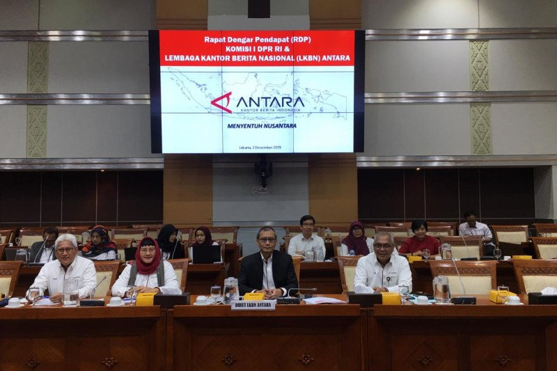 Komisi I DPR RI dukung ANTARA jadi sentral distribusi informasi