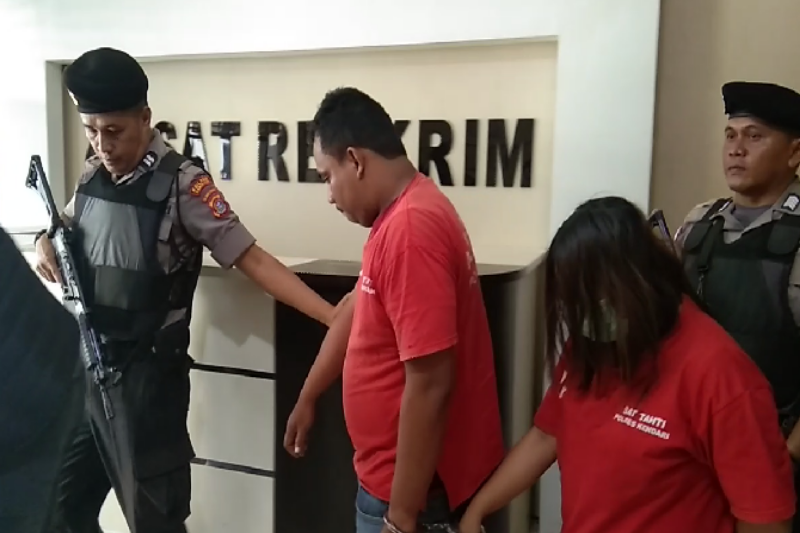 Polisi Kendari amankan pasangan pembobol ATM Rp56 juta