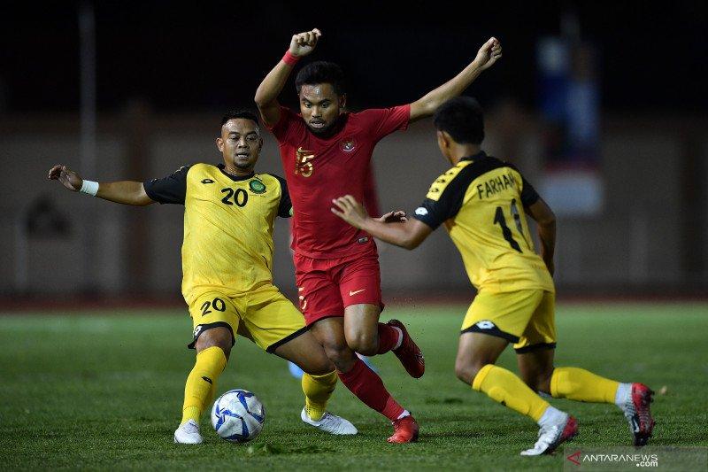 Bungkam Brunei 8-0, Indonesia geser Thailand di posisi kedua Grup B