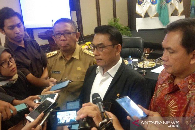 Moeldoko harapkan pembangunan pipa gas Trans Kalimantan percepat pembangunan industri