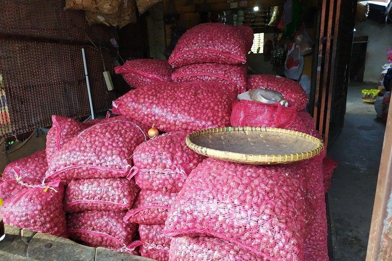 Harga bawang putih di Bandarlampung stabil jelang akhir tahun