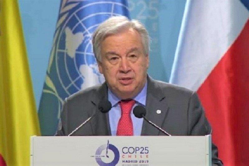 Sekjen PBB desak dunia serius tangani darurat iklim