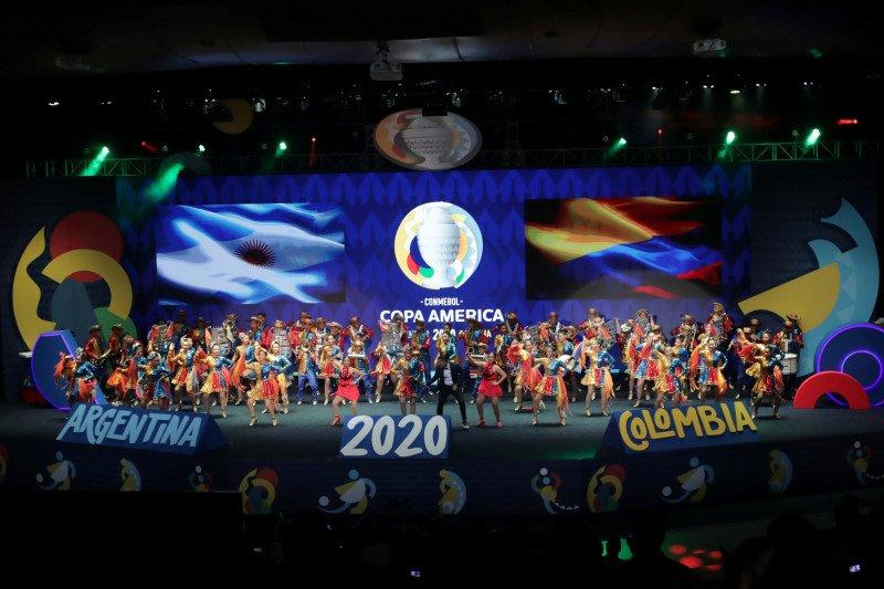 Hasil undian grup Copa America