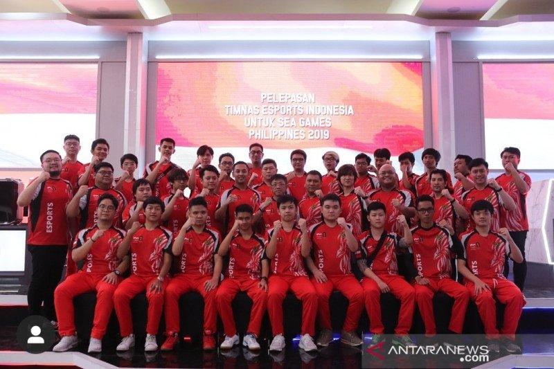 Indonesia hadapi tim kuat pada dua nomor esports SEA Games