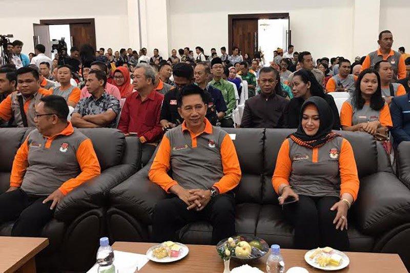 Nadalsyah apresiasi peluncuran  pemilihan Gubernur Kalteng