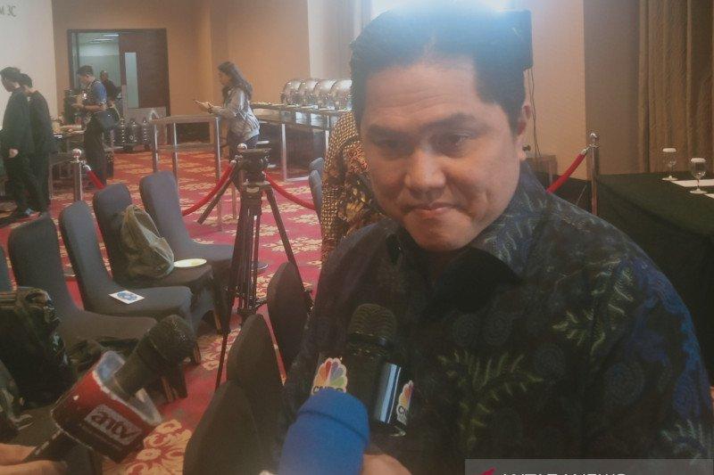 Menteri BUMN: Karyawan Garuda mundur jika bersalah