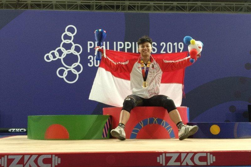 Rahmat Erwin lengkapi koleksi emas angkat besi SEA Games 2019