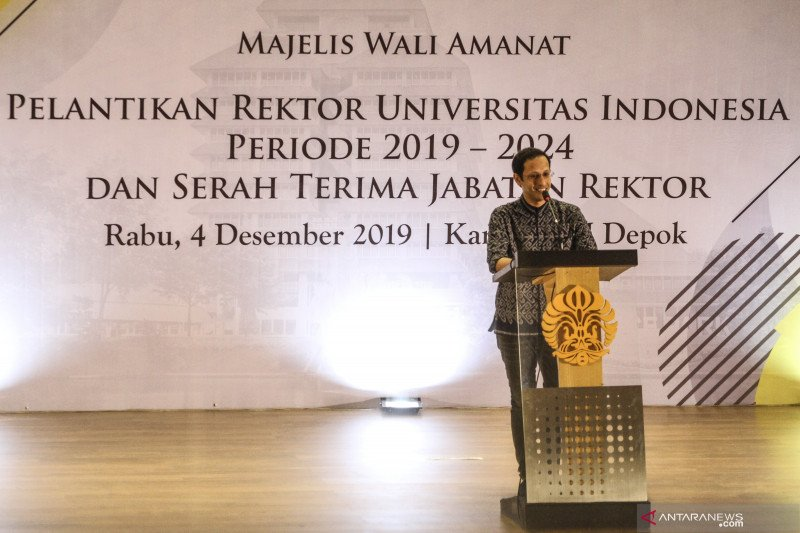 Mendikbud Nadiem ingin mahasiswa punya kemerdekaan dalam belajar