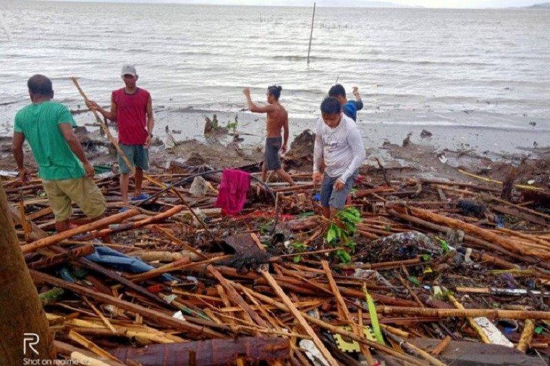 Korban tewas akibat topan Kammuri di Filipina jadi 10 orang