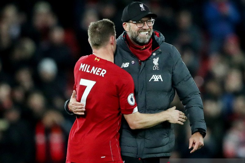 Klopp terkesan para pemain pelapis Liverpool