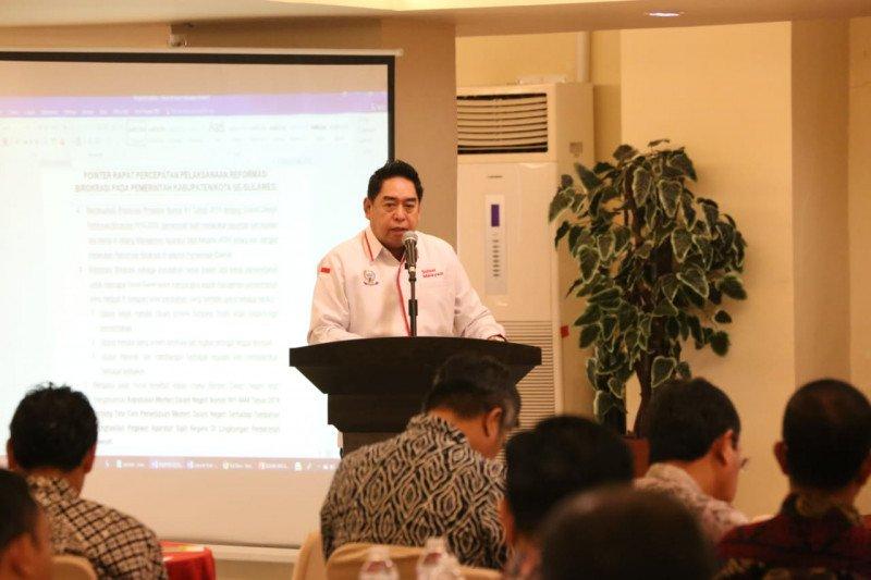 Pemprov Sulsel lakukan pendampingan percepatan reformasi birokrasi kabupaten