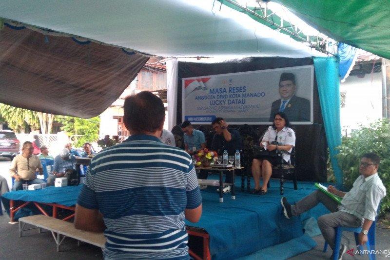 Reses pertama kali Legislator Lucky Datau gelar dialog di Kampung Arab