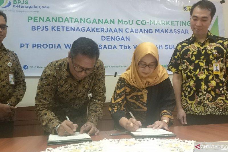 BP Jamsostek kerjasama Prodia Sulama siap tingkatkan kesehatan pekerja