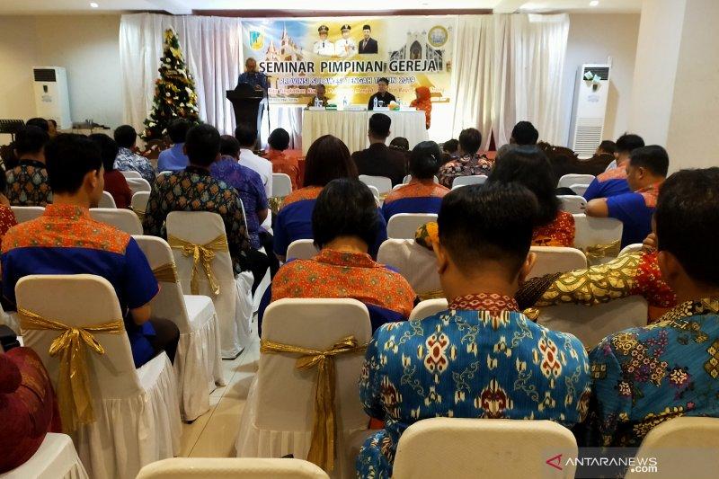 Pemimpin gereja diharapkan berkontribusi dalam pembangunan pascabencana Sulteng
