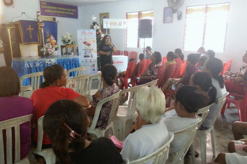 Pengungsi gempa Ambon berbagi kisah KDRT di Kampanye 16 HAKTP
