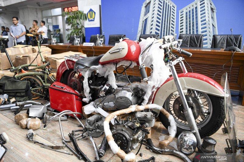 Bagaimana nasib motor Harley dan Brompton yang diselundupkan lewat Garuda?