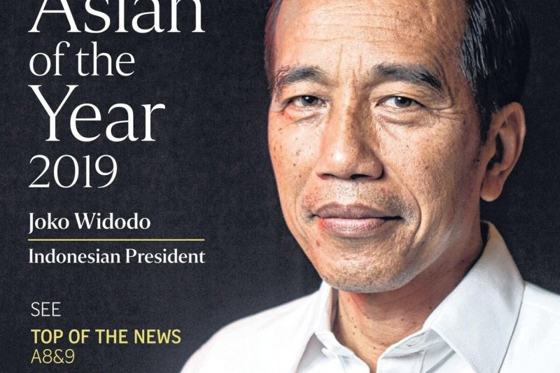 "Jokowi dinobatkan ""The Straits Times Asian of the Year 2019"""