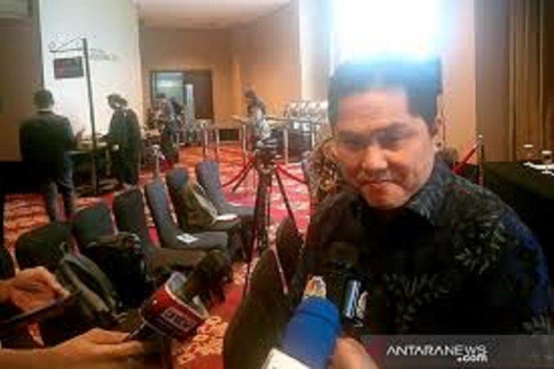 Menteri BUMN Erick Thohir ancam copot direksi Garuda jika bersalah soal Harley Davidson