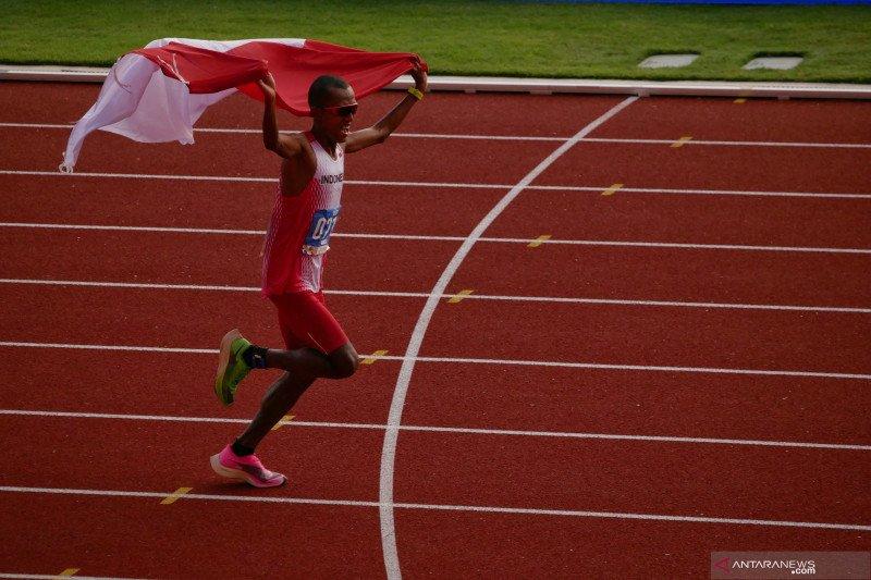 Agus Prayogo raih emas pertama atletik untuk Indonesia