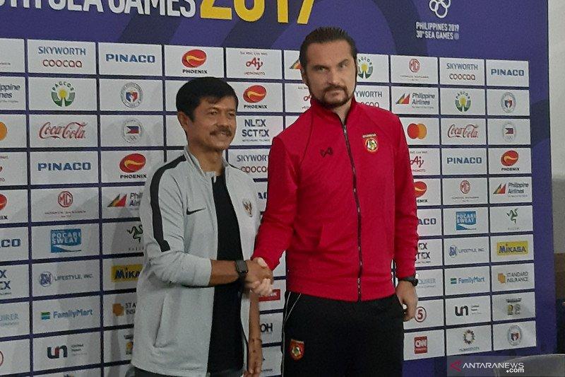 Pelatih Myanmar: Indonesia tim sepakbola tercepat di SEA Games 2019