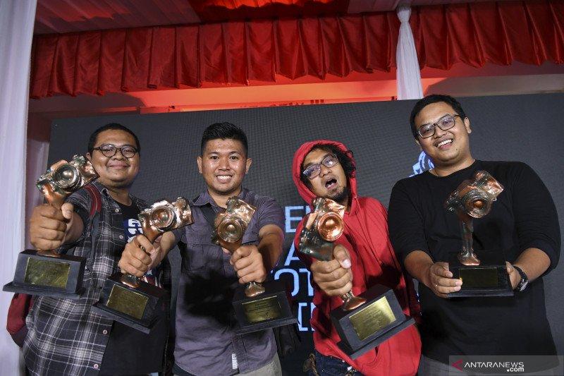 Lima wartawan foto ANTARA raih Anugerah Pewarta Foto Indonesia