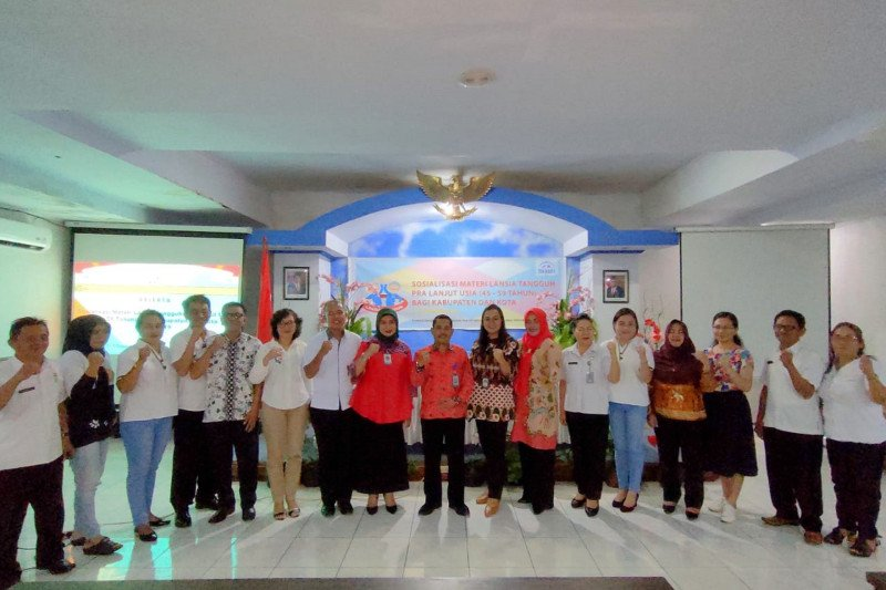 BKKBN Sulawesi Utara dorong warga lansia menjadi tangguh