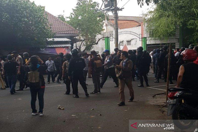 Polisi mendamaikan dua ormas Islam sempat gesekan