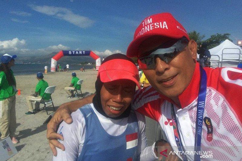 Indonesia bertahan di posisi ke dua setelah pentathlon sumbang emas
