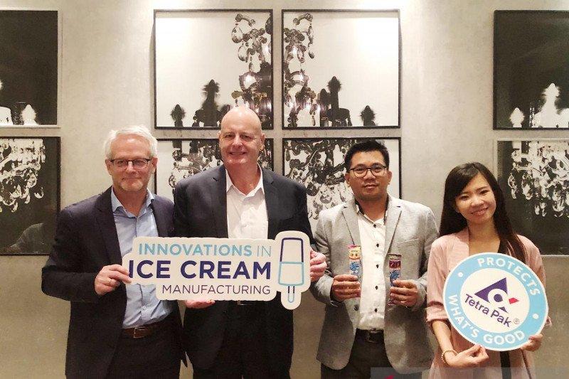 Pasar  es krim Indonesia diprediksi tumbuh di atas 10 persen