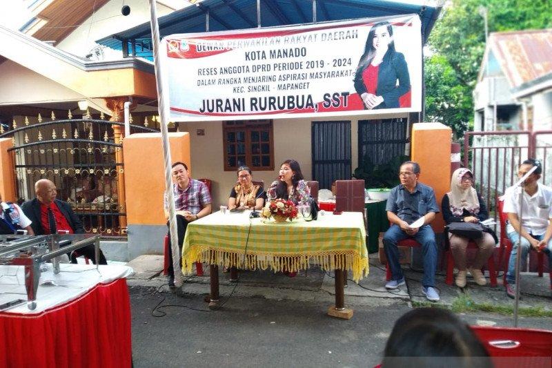 Legislator PSI Jurani Rurubua  serap aspirasi warga Kairagi