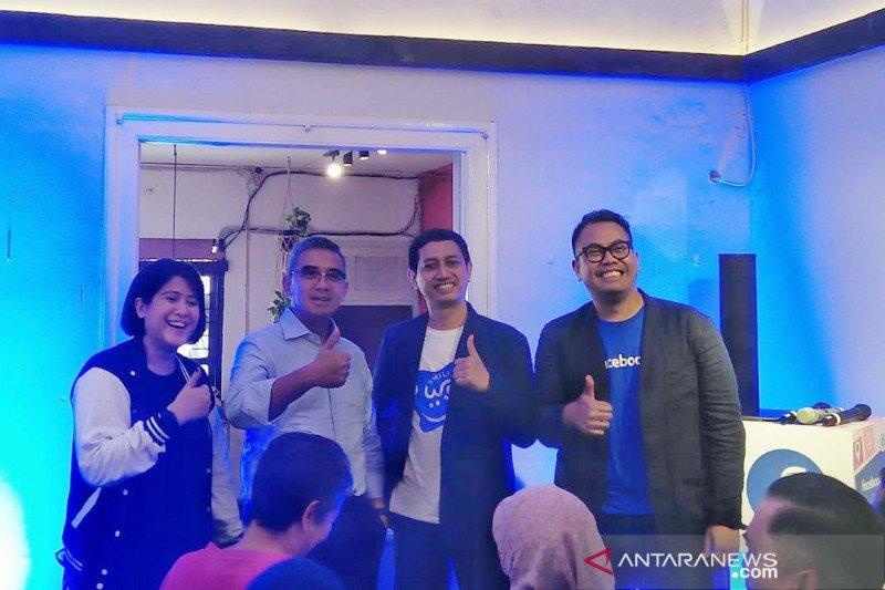 Facebook buka kafe di Bandung tawarkan kesadaran fitur privasi