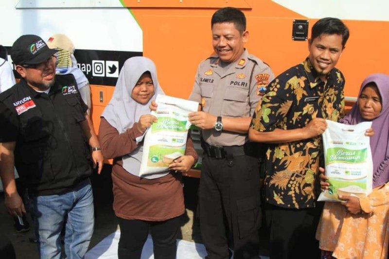 Peluncuran Humanity Rice Truck ACT disambut meriah oleh warga Desa Jipang Blora