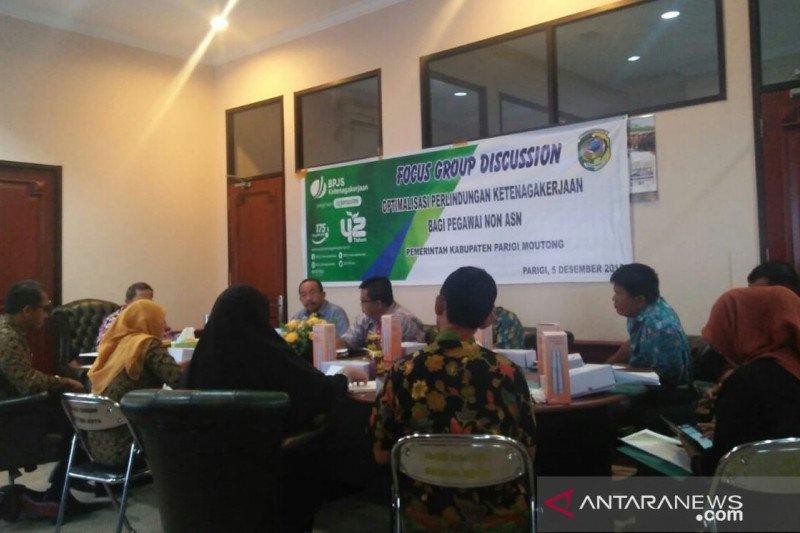 BPJS Ketenagakerjaan ajak pegawai non-PNS Parimo ikut Jamsostek