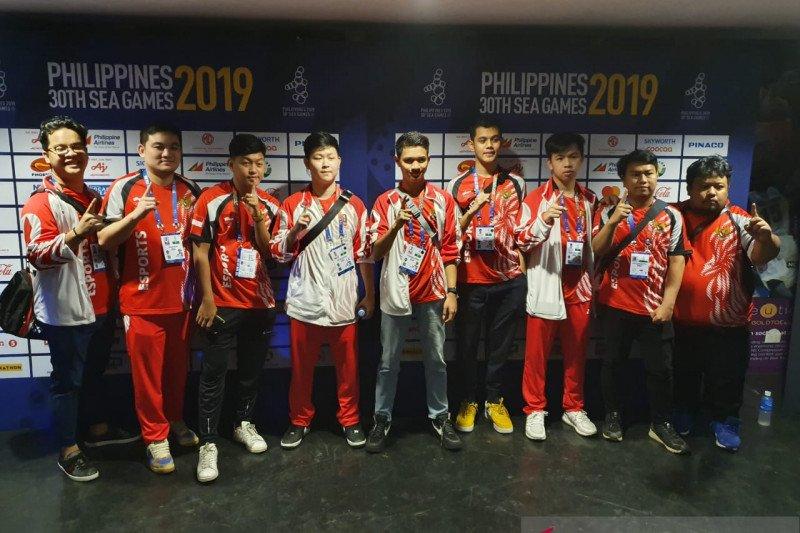 Tim Indonesia Mobile Legends melaju ke grandfinal SEA Games 2019